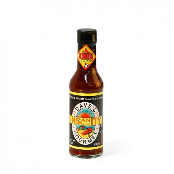 Daves Gourmet Insanity Sauce, 148ml