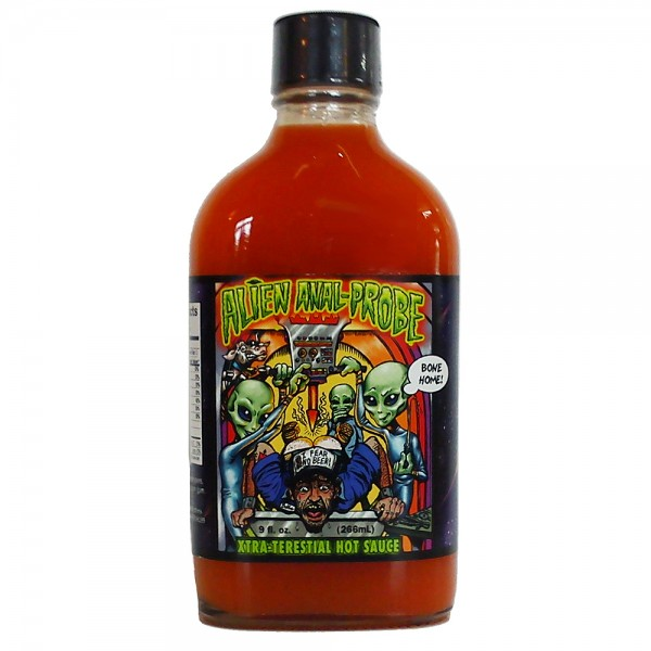 Alien Anal-Probe Extra-Terestial Hot Sauce, 266ml