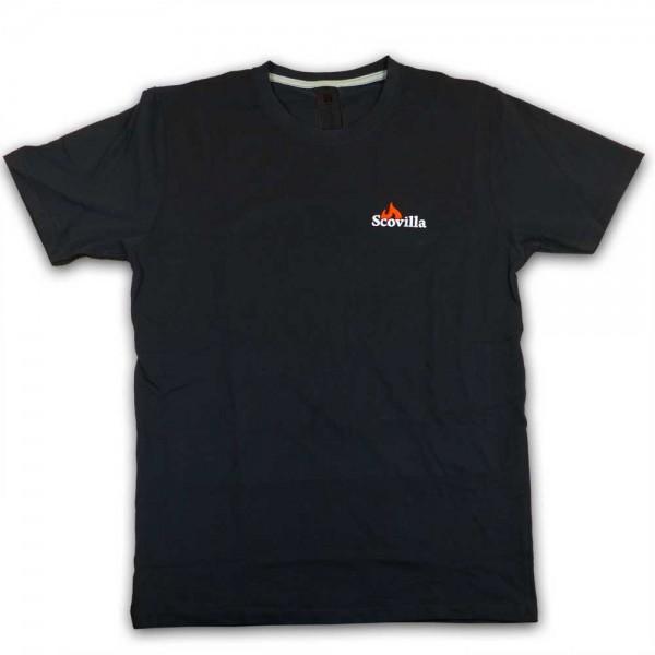 T-Shirt SCOVILLA classic (schwarz)
