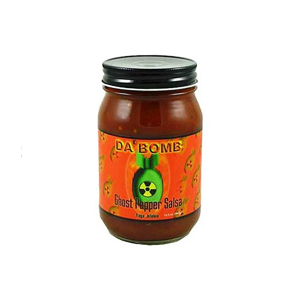 Da Bomb Ghost Pepper Salsa, 458ml