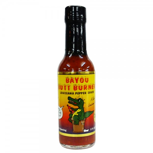 Bayou Butt Burner Louisiana Pepper Sauce, 148ml