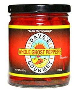 Daves Whole Ghost Peppers, 192ml