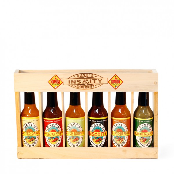 Daves Spicy Six Pack, 6 x 148ml