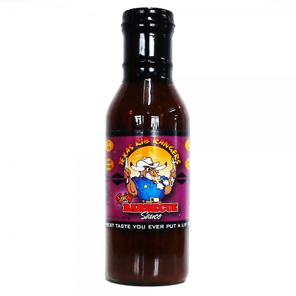 Texas Rib Rangers Spicy Barbecue Sauce, 429ml