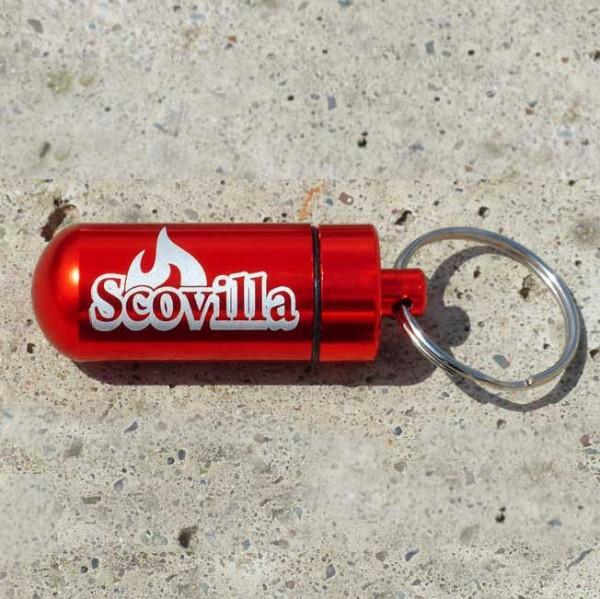 Scovilla Key-Bomb mit Inhalt, Alu rot-metallic