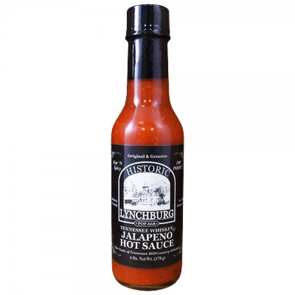 Lynchburg Jalapeno Hot Sauce mit Jack Daniel`s, 177ml