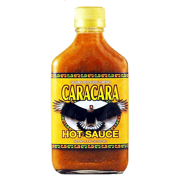 CaJohns Caracara Hot Sauce, 200ml