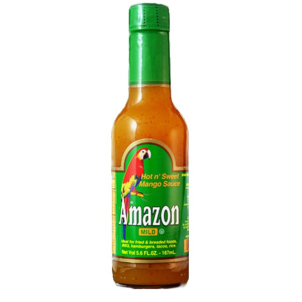Amazon Hot Sweet Mango Sauce, 166ml