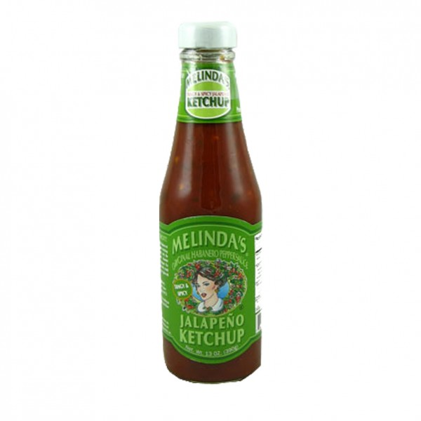 Melindas All Natural Jalapeno Ketchup, 384ml