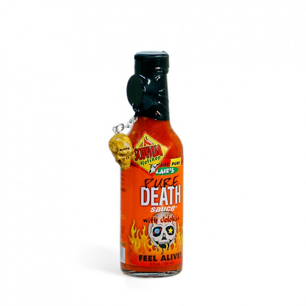 Blairs Pure Death Hot Sauce with Jolokia, 148ml