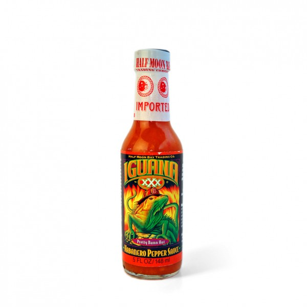 Iguana XXX - Pretty Damn Hot Habanero Pepper Sauce, 148ml