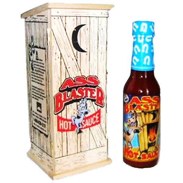 Ass Blaster Hot Sauce, 148ml - in Holzkiste