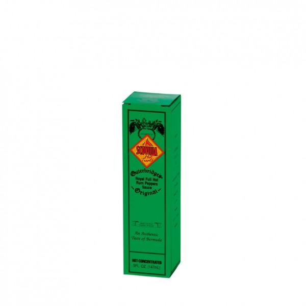 Outerbridges Royal Full Hot Rum Peppers Sauce, 148ml