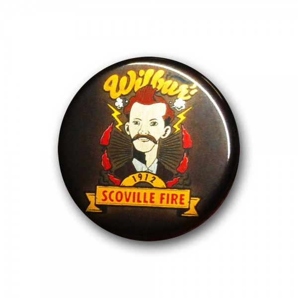 Wilbur Scoville, Metallic-Button 32 mm